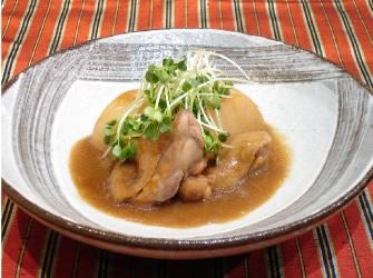 チキンと大根の味噌煮