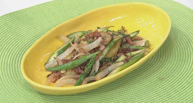 チョーコーレシピ更新しました/長崎産野菜のバター醤油炒め