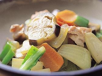 京風野菜炒め