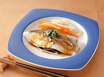 レンジde煮魚風