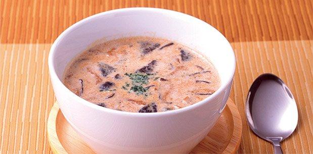 濃いスープ