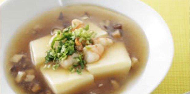 薄いスープ