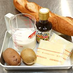 アリゴ(マッシュポテトのチーズフォンデュ)の材料