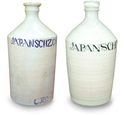 西欧アンティークとして 重宝されるコンプラ瓶
