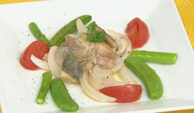 チョーコーレシピ更新しました/旬野菜とアジのマリネ