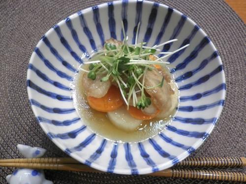 豚肉と長芋の南蛮酢漬け