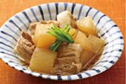 大根豚バラ肉の含め煮