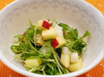 かぶとリンゴのサラダ
