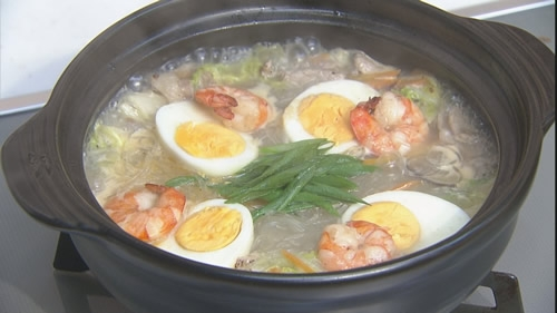 長崎ちゃんぽんスープで太平燕
