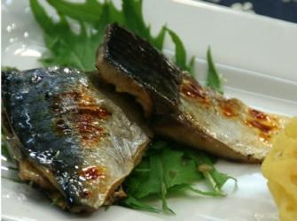 サバの味噌漬け焼き