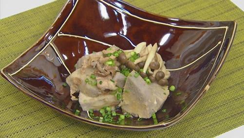 里芋と茸のスピード煮