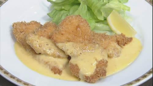 鶏肉のフライ南蛮マヨネーズ