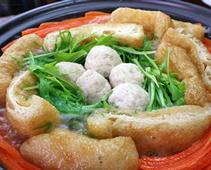 鶏つみれのタジン鍋