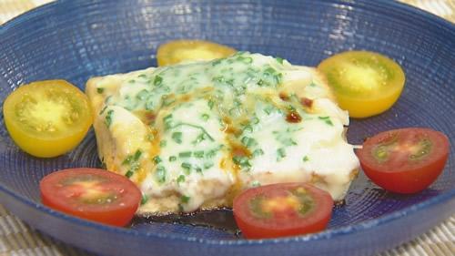 豆腐ステーキチーズ焼き