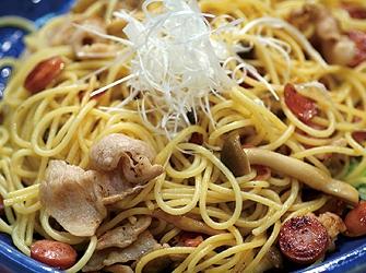 和風味噌スパゲティ
