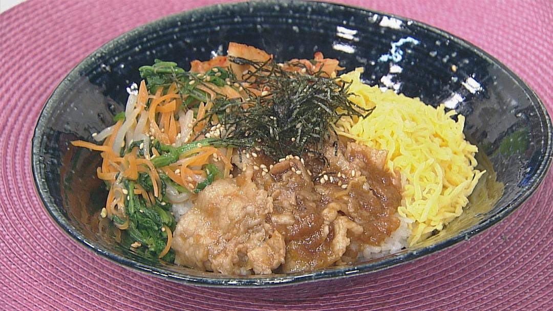 韓国風「ビビンバ」
