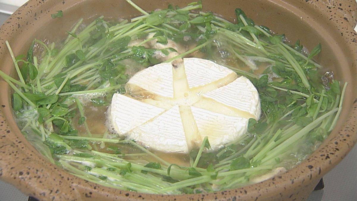 レモン鶏のチーズ鍋