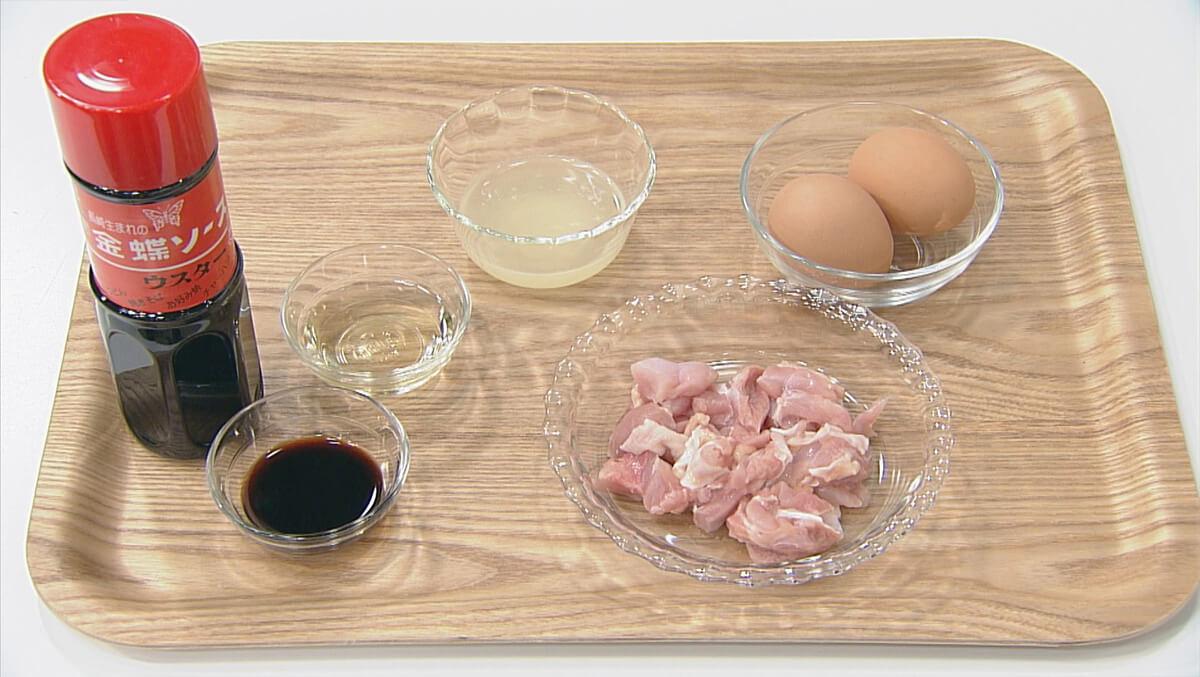 ソースde究極の親子丼の材料