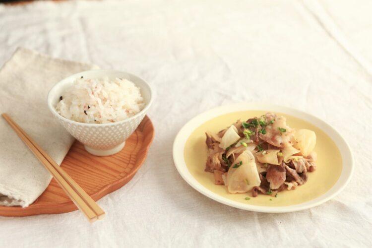 チョーコー,減塩醤油,レシピ,とっとってmotto,野菜炒め,大根