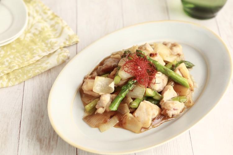 チョーコー,醤油,レシピ,とっとってmotto,かけぽん,ポン酢,鶏,アスパラ