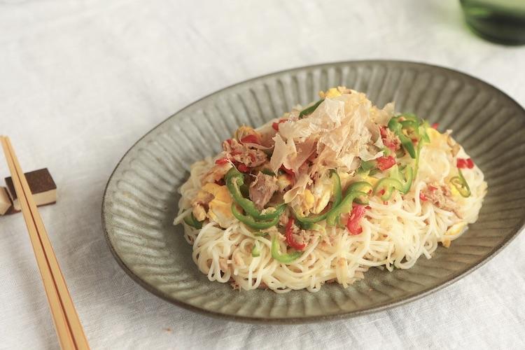 レシピ,チャンプルー,素麺,めんつゆ,麺つゆ,とっとってmotto